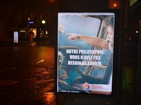 De fausses publicités dans Paris pour épingler les sponsors de la COP 21 | Arts et FLE | Scoop.it