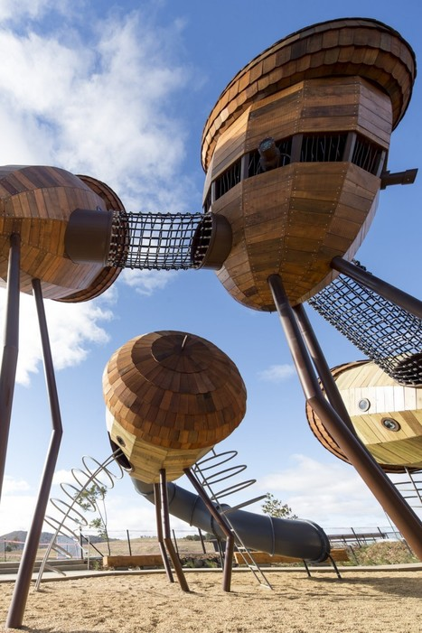 Australia's National Arboretum PLAYGROUND by Taylor Cullity Lethlean | The Architecture of the City | Scoop.it