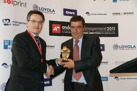 Lomonaco recibe el premio Andalucia Management 2015   Lo Monaco   Scoop.it