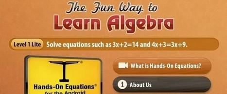 The Fun Way To Learn Algebra, aprender álgebra en Android | Álgebra | Scoop.it