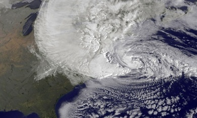 Climate change likely to steer away Sandy-like superstorms, study says | Climate change challenges | Scoop.it