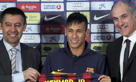 Barcelona cleared of any irregularities regarding the summer signing of Neymar - Daily Mail | Spanish League | Scoop.it