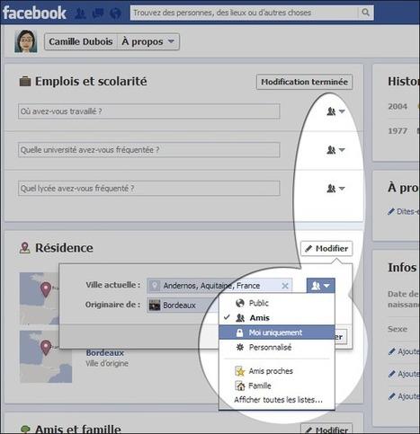 Facebook : se protéger des indiscrétions du moteur de recherche | formation 2.0 | More SEO | Scoop.it