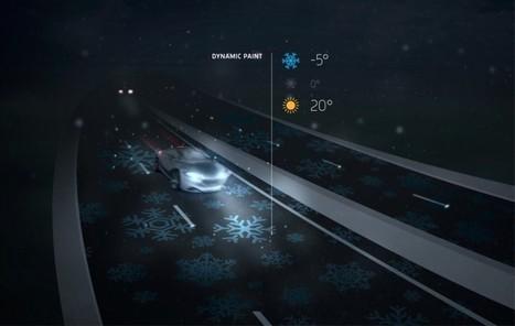 Top des innovations ambitieuses de la «Smart road» | CIR ET RECHERCHE  - LG | Scoop.it