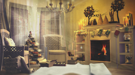 Every room in the house has it's own kind of warmth | 亗 Second Life Home & Decor 亗 | Scoop.it