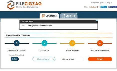 FileZigZag - Converta Online Centenas de Formatos de Arquivos   Tablets na educação   Scoop.it