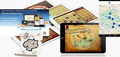 Créer chasses au trésor, énigmes, jeu de piste, enquête mystère, audio-guide... sur tablette ou smartphone | CaféAnimé | Scoop.it