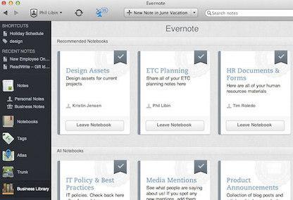 Evernote Business | Evernote | Formación para el trabajo | Scoop.it