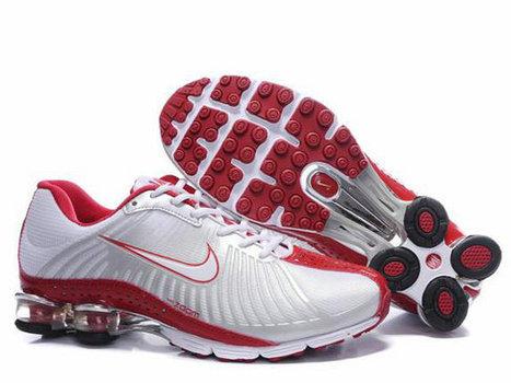 Nike Shox R4 Femme 0021 [CHAUSSURES NIKE SHOX 00394] - €61.99 | PAS CHER Nike Shox femme | Scoop.it