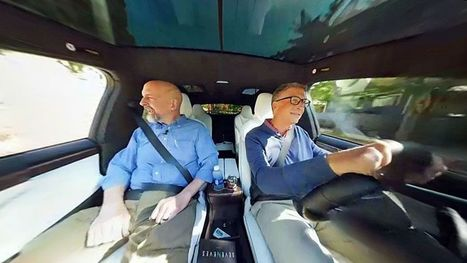 Bill Gates and Neal Stephenson drive into the future in a Tesla in VR | NIC: Network, Information, and Computer | Scoop.it