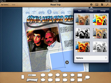 How to Share Educational Comics from Comic Life iPad App - For Dummies | Comics & Cartoons in the Classroom | Scoop.it