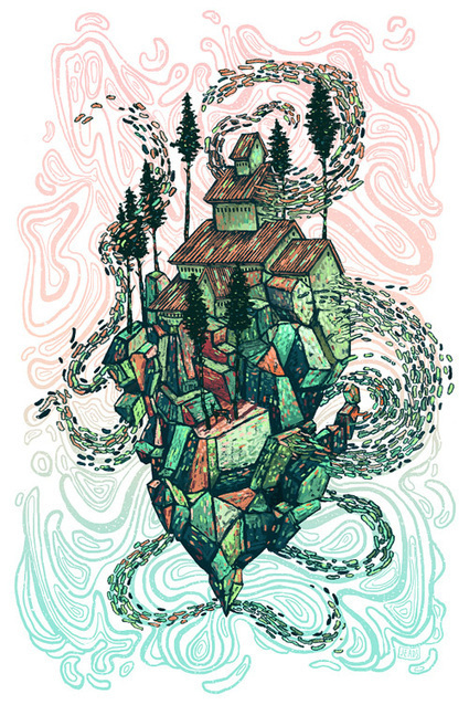 Be Mesmerized With These Meticulous Surreal Illustrations | Collecting About Design | Scoop.it