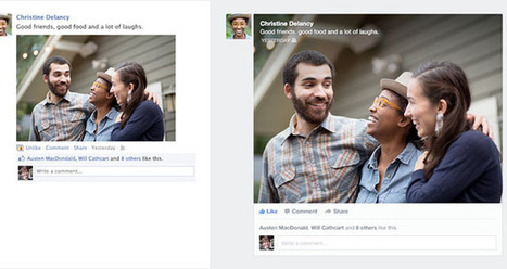 Facebook Unveils Revamped News Feed, Focusing Heavily on Photo Sharing | Charliban Worldwide | Scoop.it
