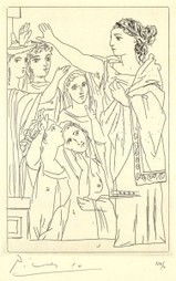 Picasso's Rare 1934 Etchings for a Racy Ancient Greek Comedy | World Civilizations | Scoop.it