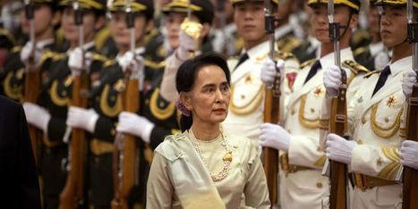 Aung San Suu Kyi jouela carte chinoise   Géopolitiques   Scoop.it