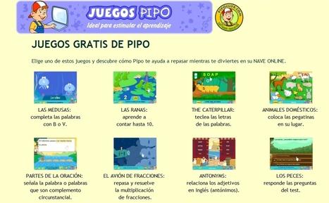 Pipoclub.com | Mini juegos Pipo gratis | Educación Infantil y Primaria. Ideal para pizarra digital. E-LEARNING | ACTIVIDADES EDUCATIVAS | Scoop.it