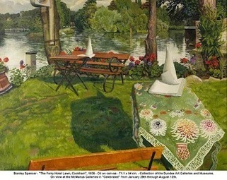 Jeremy Holton - Google+ - Stanley Spencer 'The Ferry Hotel lawn Cookham' Another… | Fine Art at Google+ | Scoop.it