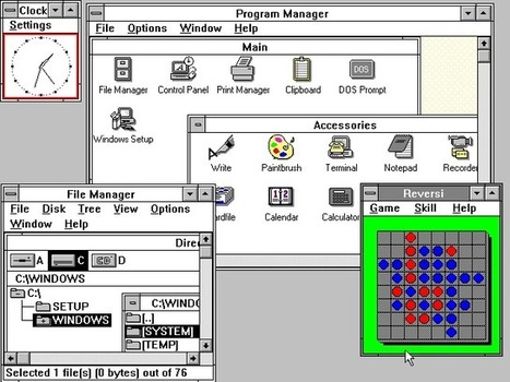 OS nostalgy: 30 years ago Windows was first released, see how much it has changed | DigitalGap | Scoop.it