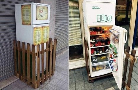 La primera nevera solidaria de España salva de la basura cientos de kilos de alimentos | Ecocosas | Pedalogica: educación y TIC | Scoop.it
