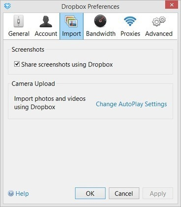 Save Your Screenshots to Dropbox   Time to Learn   Scoop.it