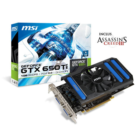 MSI N650TI-1GD5/OC G - Carte Graphique | High-Tech news | Scoop.it