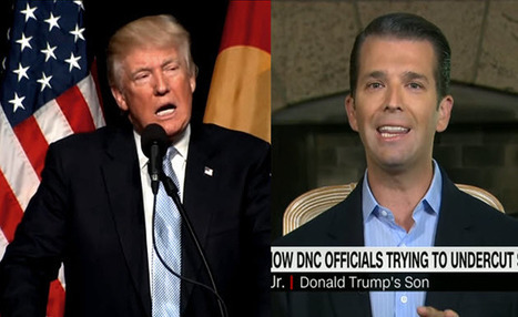 Trump Jr. Offers Ridiculous Defense Of Father's Foreign Policy Royal F*** Up On Saudi Arabia (TWEET) | LibertyE Global Renaissance | Scoop.it