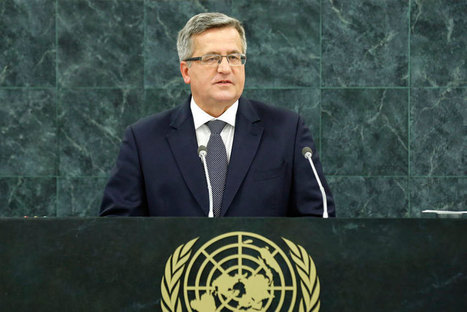 Human rights, sense of dignity must be part of development, Polish President ... - UN News Centre | Human Rights | Scoop.it