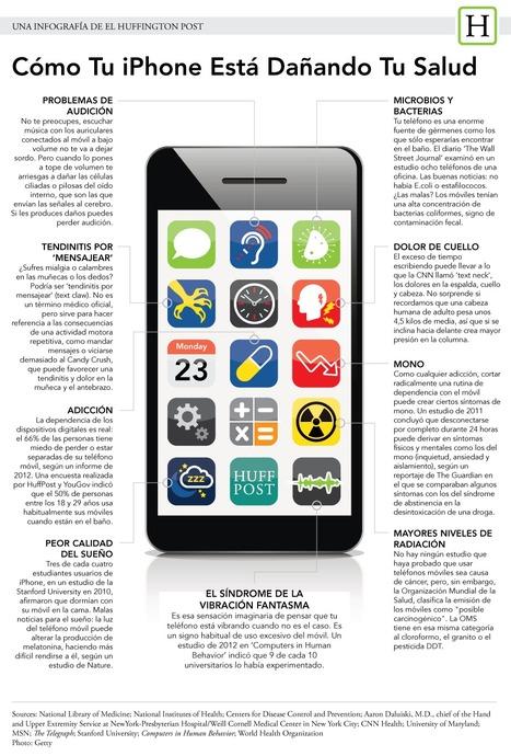Cómo tu iPhone está dañando tu salud (INFOGRAFÍA) | Educación y TIC | Scoop.it