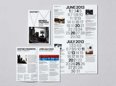 Whitney Museum Graphic Identity | Website Typography | Scoop.it