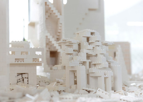 OMA, Renzo Piano, BIG and Steven Holl build Lego structures for Olafur Eliasson installation | The Architecture of the City | Scoop.it