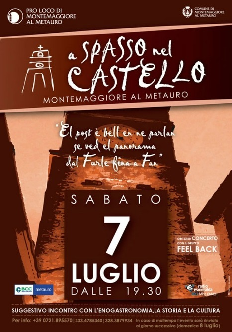 """A Spasso nel Castello"": Montemaggiore al Metauro 