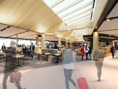 Sydney Airport begins second phase of T2 casual dining precinct - The Moodie Davitt Report | Urban eating | Scoop.it