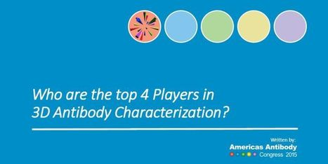 Who are the top 4 Players in 3D Antibody Characterization? | Antibody & Biosimilar | Scoop.it