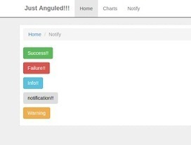 Code Like a Poem!: AngularJs Tutorial 8 — Simple Notification Directive Using Event Dispatcher | Frontend Programming & Design | Scoop.it