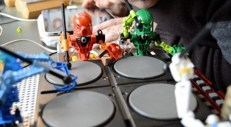 Lego Bionicles drafted into Arduino-driven band with synthesizers and more (video) | IdeasLab | Scoop.it