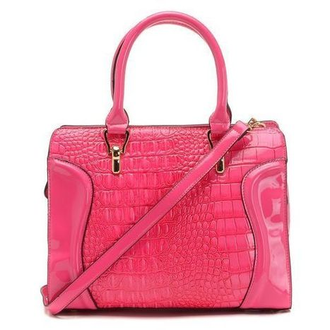 New Michael Kors Embossed Large Pink Satchels at Prettybagoutlet | MK Related News | Scoop.it