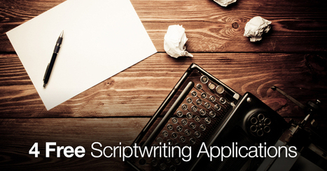 4 Free Scriptwriting Applications | Writing and watching ... for the screen etc. | Scoop.it