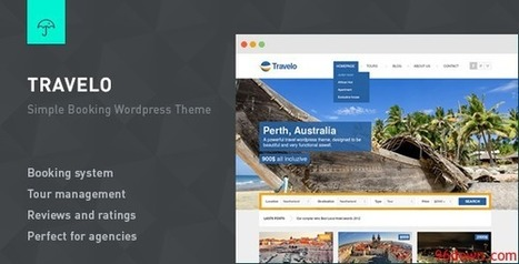 Travelo v2.3 Responsive Booking Wordpress Theme | Download Free Full Scripts | Tao Bao | Scoop.it