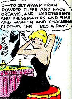 comicallyvintage: First world problems. | Herstory | Scoop.it