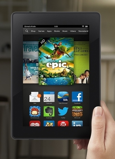 Salient Key Features of Kindle Fire HD, Kindle Fire HDX and Kindle Fire HDX8.9 | Market News | Amazon Kindle Fire HDX | Scoop.it