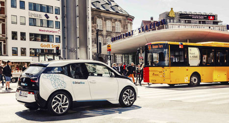 Copenhagen New Carsharing Integrated With Public Transport | InternetofThings | Scoop.it