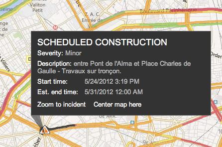 Bing Maps : le trafic en temps réel par Nokia - Clubic | Cartographie culturelle | Scoop.it