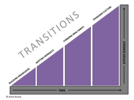 Change Agents are Leaders: The four transitions toward culture change in your school | school improvement process | Scoop.it