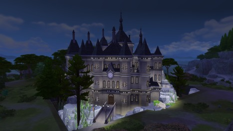 The Sims 4 Gallery: Builds from Films by HattySims << Sims Community | Les Sims | Scoop.it