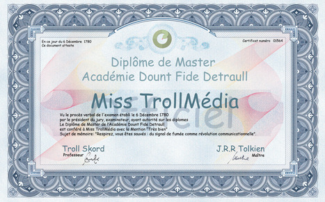 Transmedia Lab | Blog | Le Centre Pompidou lance son ARG, « Eduque le troll ! » | Musée participatif et collaboratif | Scoop.it