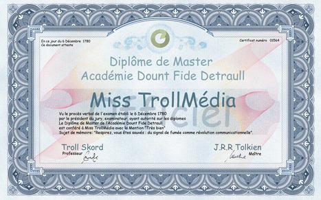 Transmedia Lab | Blog | Le Centre Pompidou lance son ARG, « Eduque le troll ! » | Nouveautés Web, apps et musées | Scoop.it