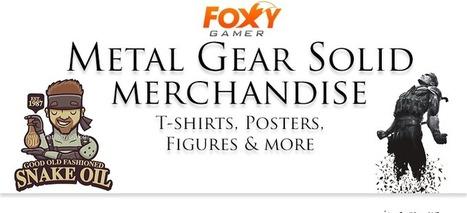 Metal Gear Solid Merchandise – T-shirts, Posters & Figures | Gaming merchandise | Scoop.it