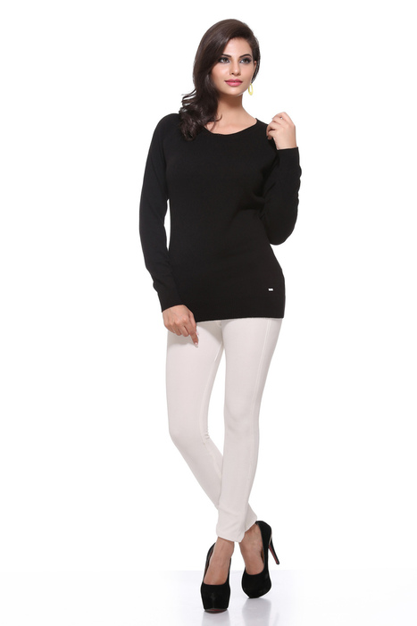 Stylish Black Color Women Sweater Pullover | Women Winter Clothes | Scoop.it
