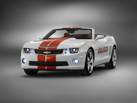 Chevrolet Camaro Convertible Official Pace Car of 2011 Indy 500 | Car Stuff | Used Cars That Looks New | Scoop.it