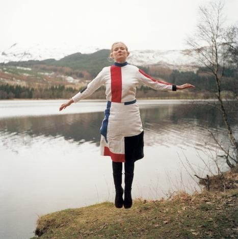 Self-Portrait in Suprematist DressbySusanneNielsen | the before and the after of photography | Scoop.it